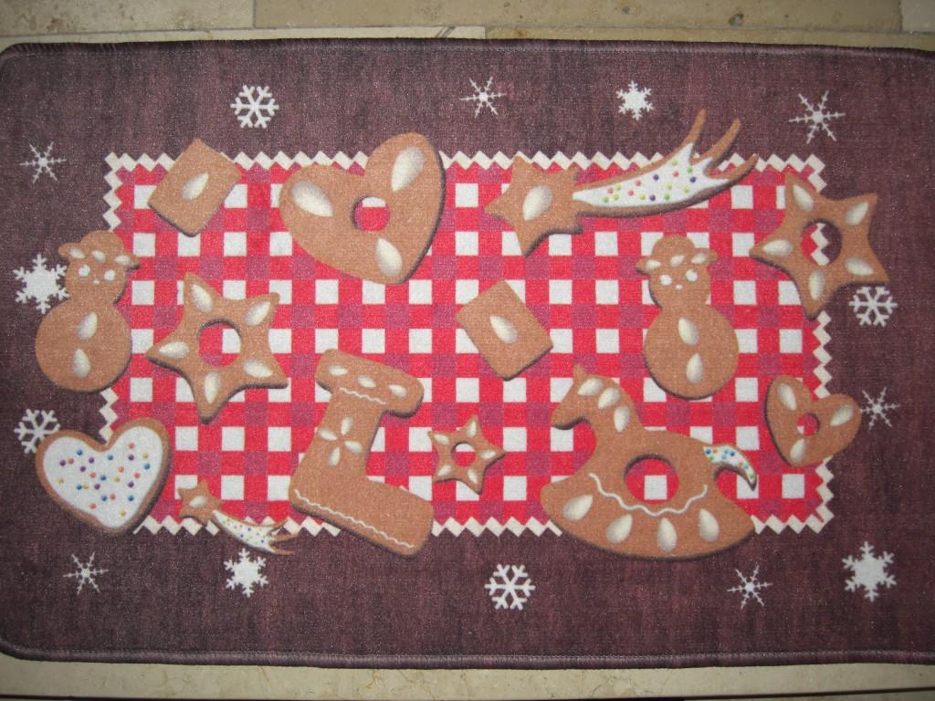 Meine Weihnachts- Fußmatte vor der Haustüre