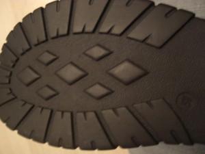 Sohle meiner neuen Stiefel