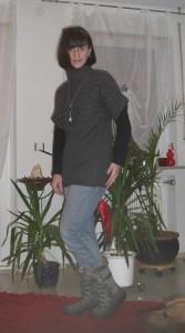 sehen toll aus - meine neuen Stiefel