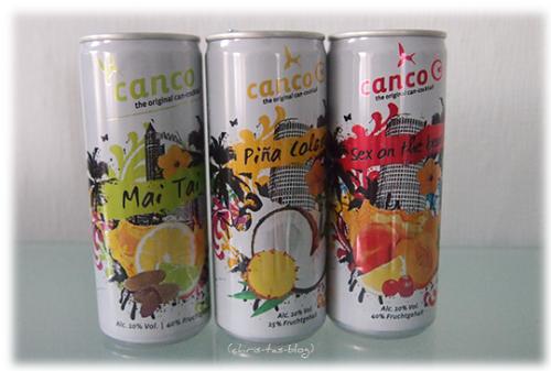 Canco - Cocktail aus der Dose