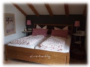 Schlafzimmer der Ferienwohnung Casa Claudia