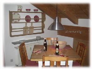 Essbereich im Casa Claudia