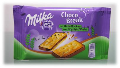 Choco Break mit Haferflocken