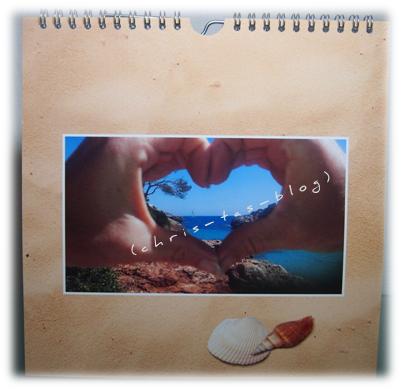 Cliparts im Fotokalender 2015