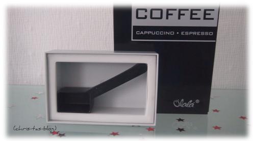 Coffee Line - Aromadeckel mit Dosierlöffel