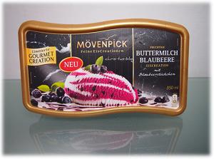 Mövenpick Feine EisCreationen Buttermilch-Blaubeere