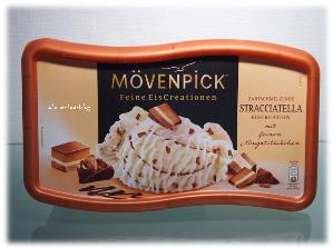 Feine Eiscreation von Mövenpick