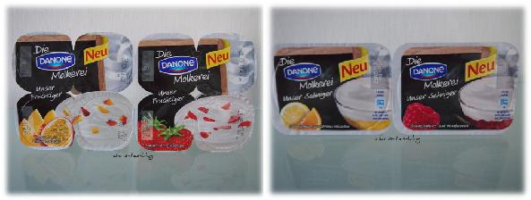 Die neuen Danone-Joghurts
