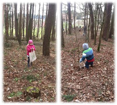 Der Osterhase war im Wald