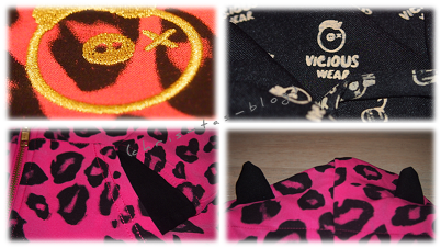 Details Jacke Pink Panther