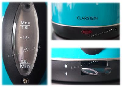 Details Wasserkocher Klarstein
