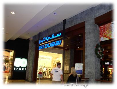 Direkt von der Dubai Mall zu Ski Dubai