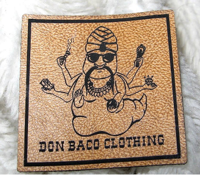 Don Baco Kunstlederlabel