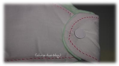 Druckknöpfe am Schlafsack
