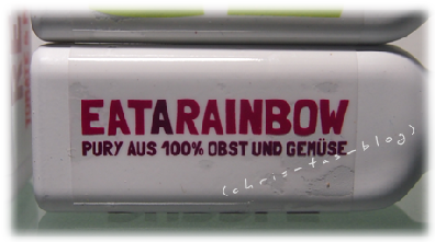 Eat a rainbow red