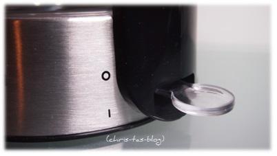 Ein-Ausschalter Wasserkocher