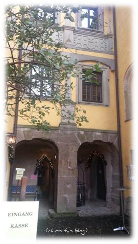 Eingang Altes Schloss Sugenheim