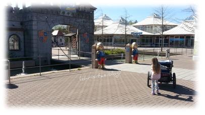 Eingang Playmobil-Funpark Zirndorf