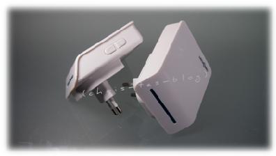 Empfänger Türklingel - Melodien- und Lautstärkeknopf