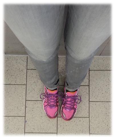 Endlich wieder Schuhe tragen