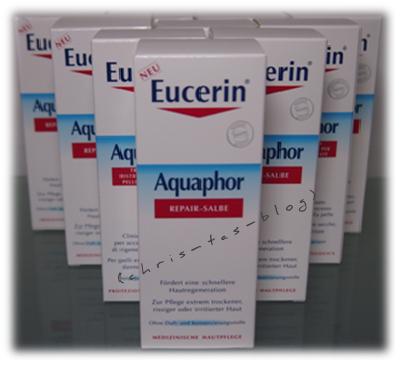 Eucerin Aquaphor Repair-Salbe zu gewinnen