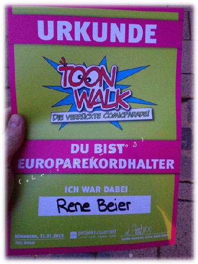 Europarekordhalter Toon Walk