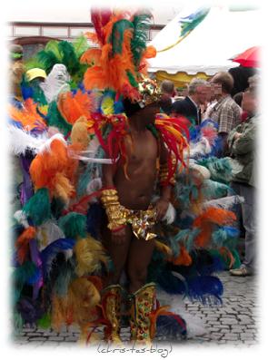 Exoten beim Samba Festival