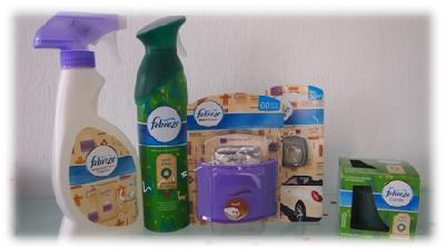 Febreze Produkte gewonnen