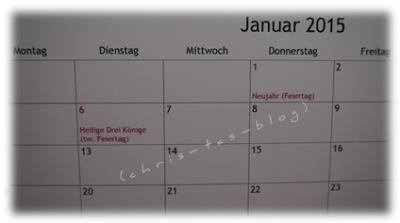 Feiertage 2015
