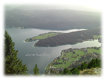 Walchensee - Blick Aufstieg Herzogstand