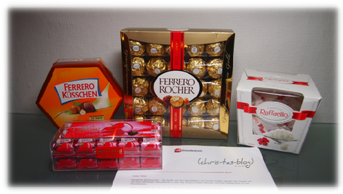 Ferrero Kreativ-Wettbewerb
