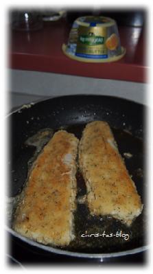 Fischfilet in Kerrygold Kräuterbutter gebraten
