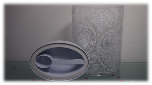 Flower Paisley transparent O´lala Box