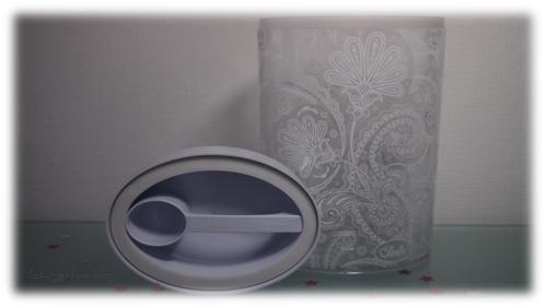 Flower Paisley transparent O´lala Box