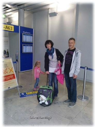 Flughafen Nürnberg - Abflug
