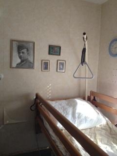 leeres Bett... Oma ist derzeit im Pflegeheim