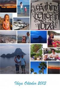 Fotocollage Ibiza