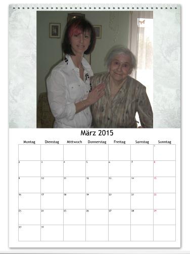 Fotokalender fotorola mit Omas Fotos