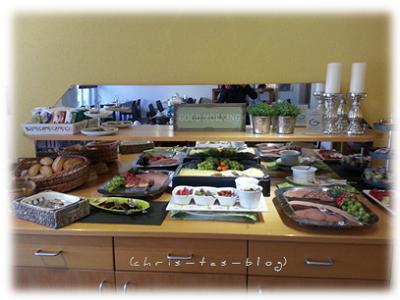 Frühstücks-Buffett im Hotel Kellhof