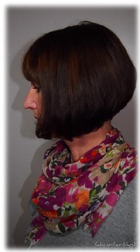 Nach dem Friseurbesuch