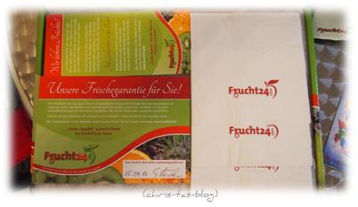 Frischegarantie bei Frucht24.de