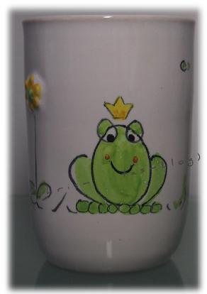 Froschkönig-Becher