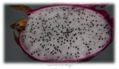 Fruchtfleisch der Pitahaya - Drachenfrucht
