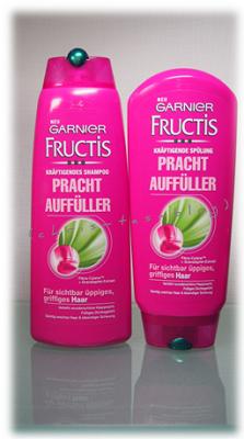 Garnier Fructis Prachtauffüller Shampoo und Spülung