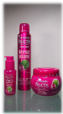 Garnier Fructis Produktserie Serum, Kur,