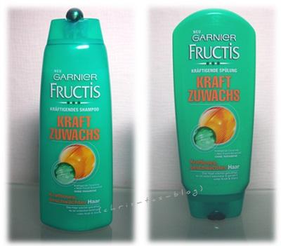 Shampoo - Spülung Garnier Kraft Zuwachs