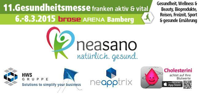 Neasano auf der Gesundheitsmesse Bamberg