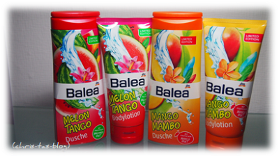 Gewinnspiel - gewinnt Balea-Sets