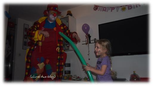 Gina und der Clown