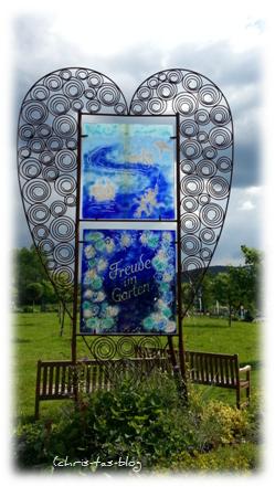 Glaskunst für den Garten